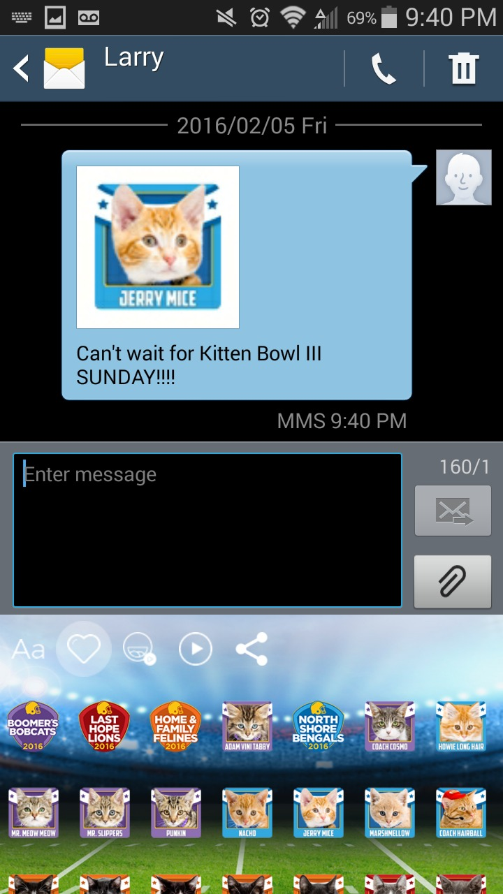 Kitten Bowl Screenshot