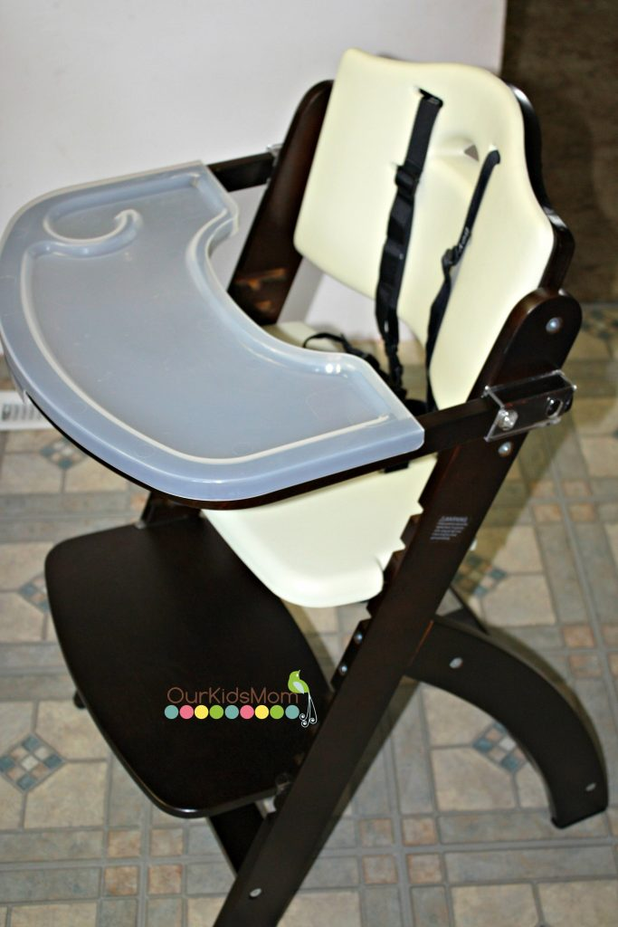 Mahogany//Cream White Beyond Junior Y Series High Chair