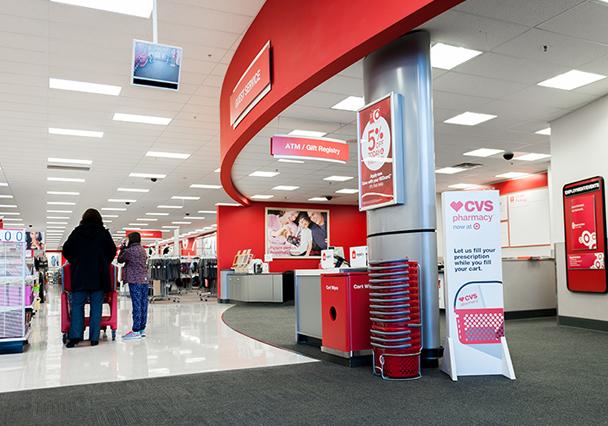 CVS in Target