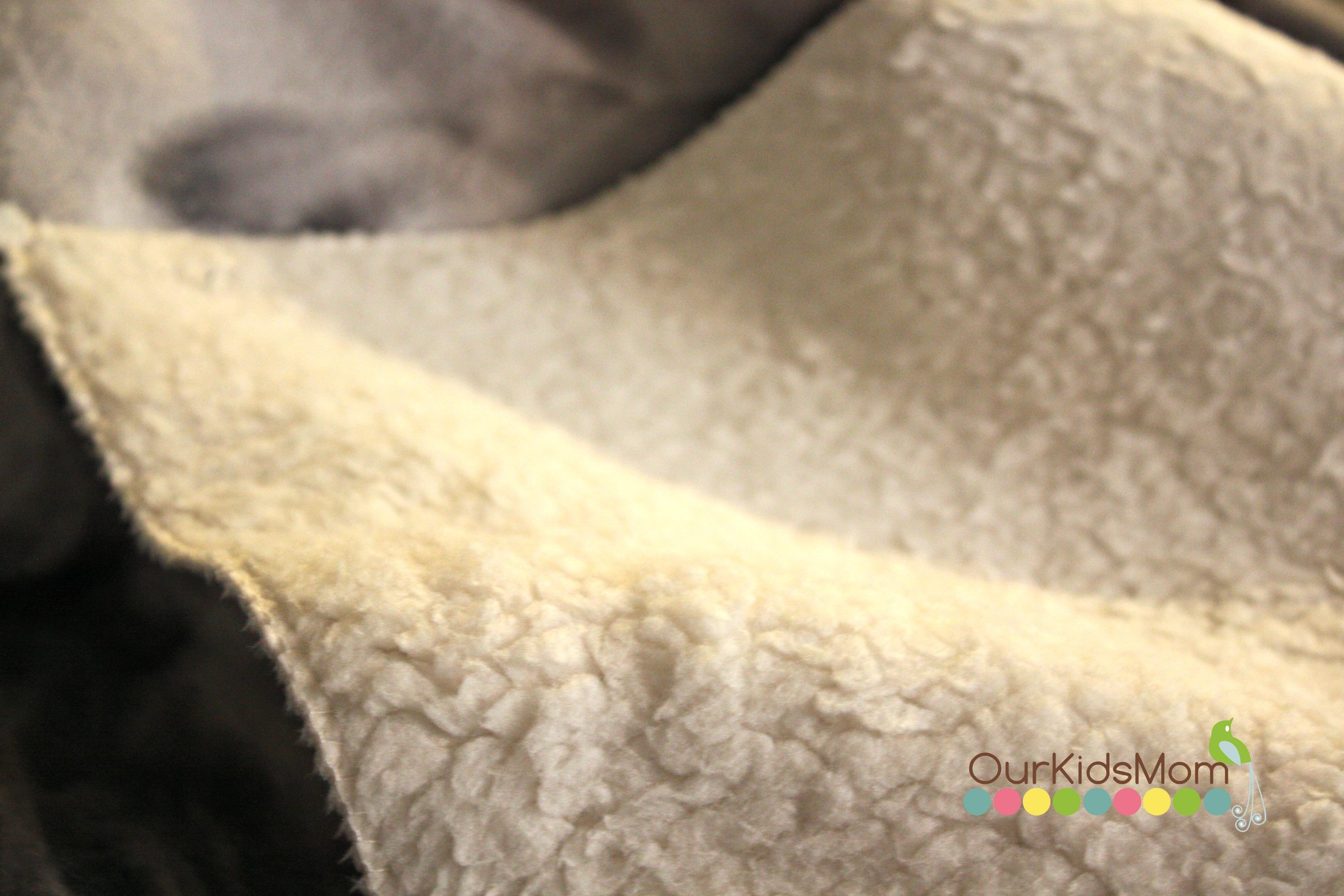 Back of the blanket