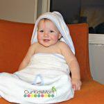 Crazy Joe Baby Joe Bamboo Hooded Towel