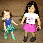 American Girl Dolls Wellie Wishers Teach Girls How to Be Good Friends