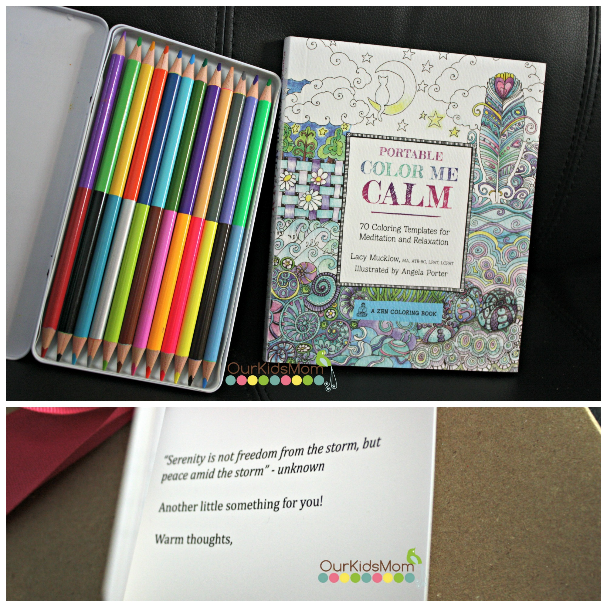 Coloring book set