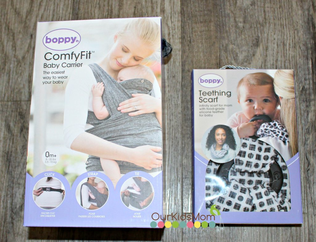 Boppy Comfyfit Baby Carrier And Teething Scarf Ourkidsmom