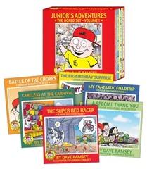 financial peace jr books