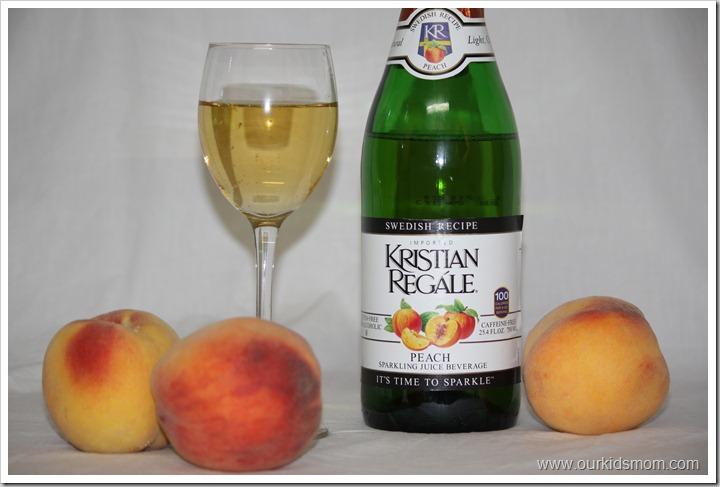 Kristian Regale Sparkling Juice Peach Flavored