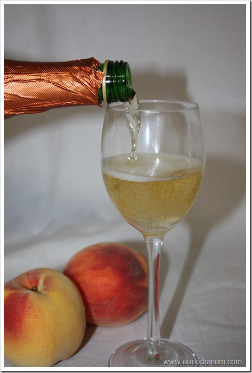 Kristian Regale Sparkling Juice in a Wine Glass