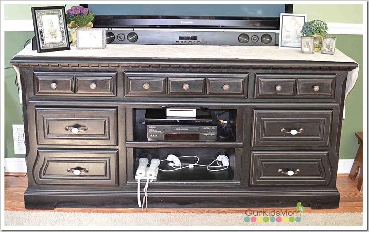 Dresser Drawers Repurposed Shelves