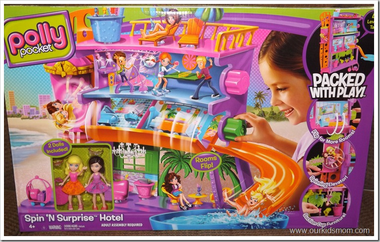 Cinderella castle, doll and polly pockets 006