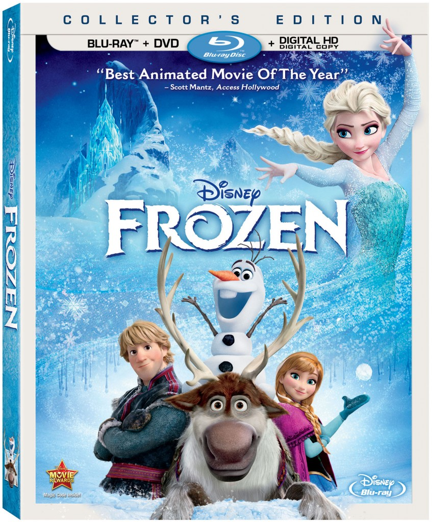 #FrozenBluRay Review and Giveaway