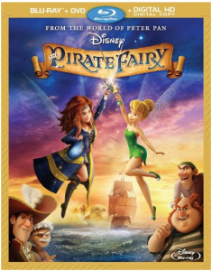 #PirateFairyBloggers Pirate Fairy Blu Ray Available April 1 2014