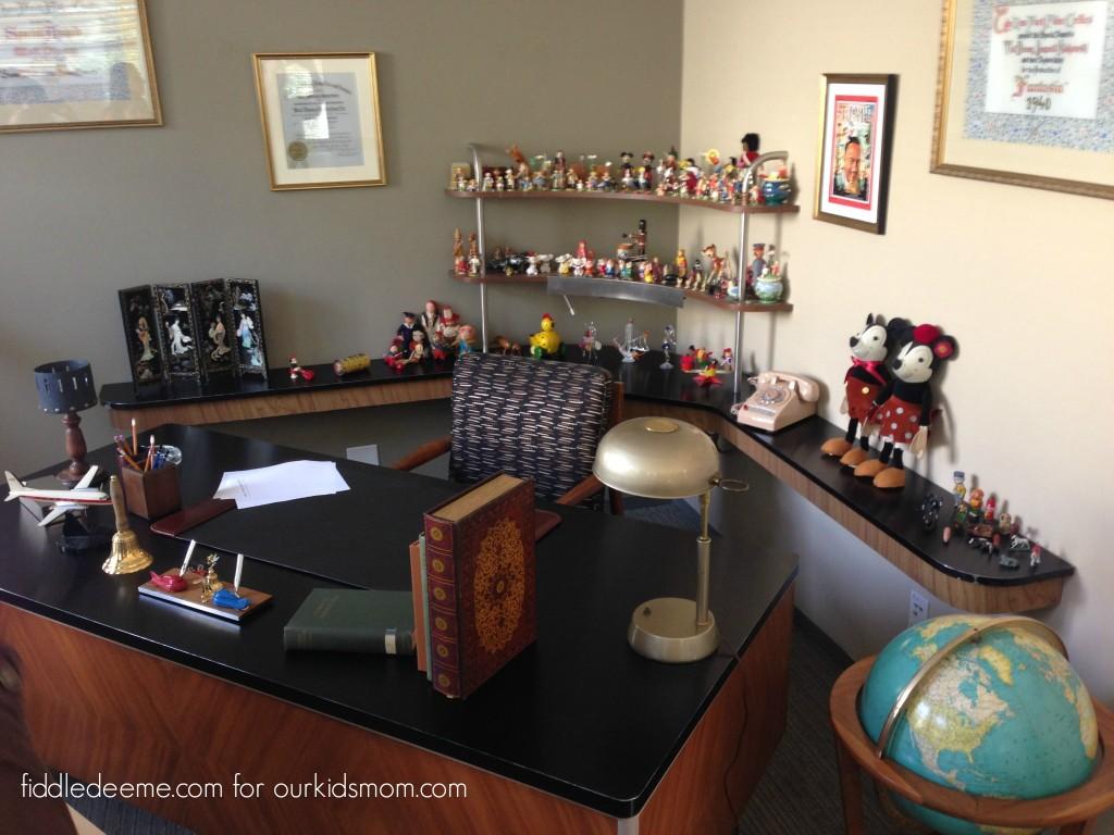 Saving Mr Banks Walt Disney Formal Office Recreation
