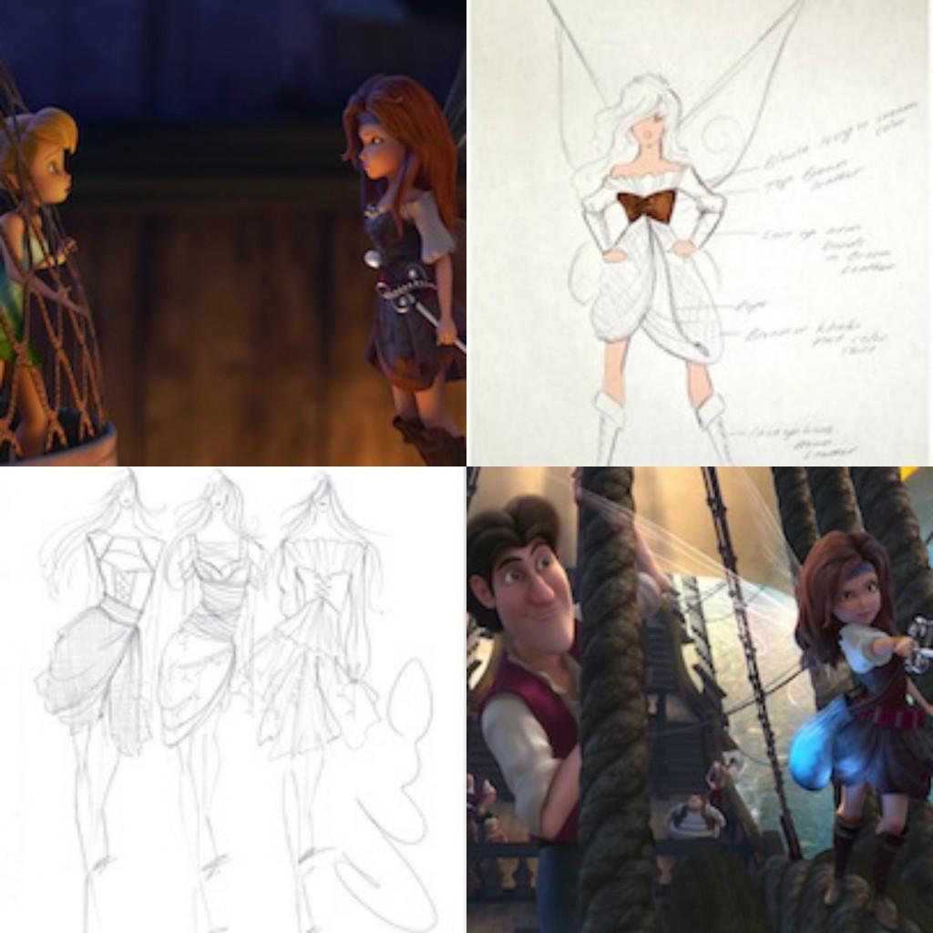 Pirate Fairy Siriano Sketches