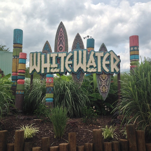 White water water park