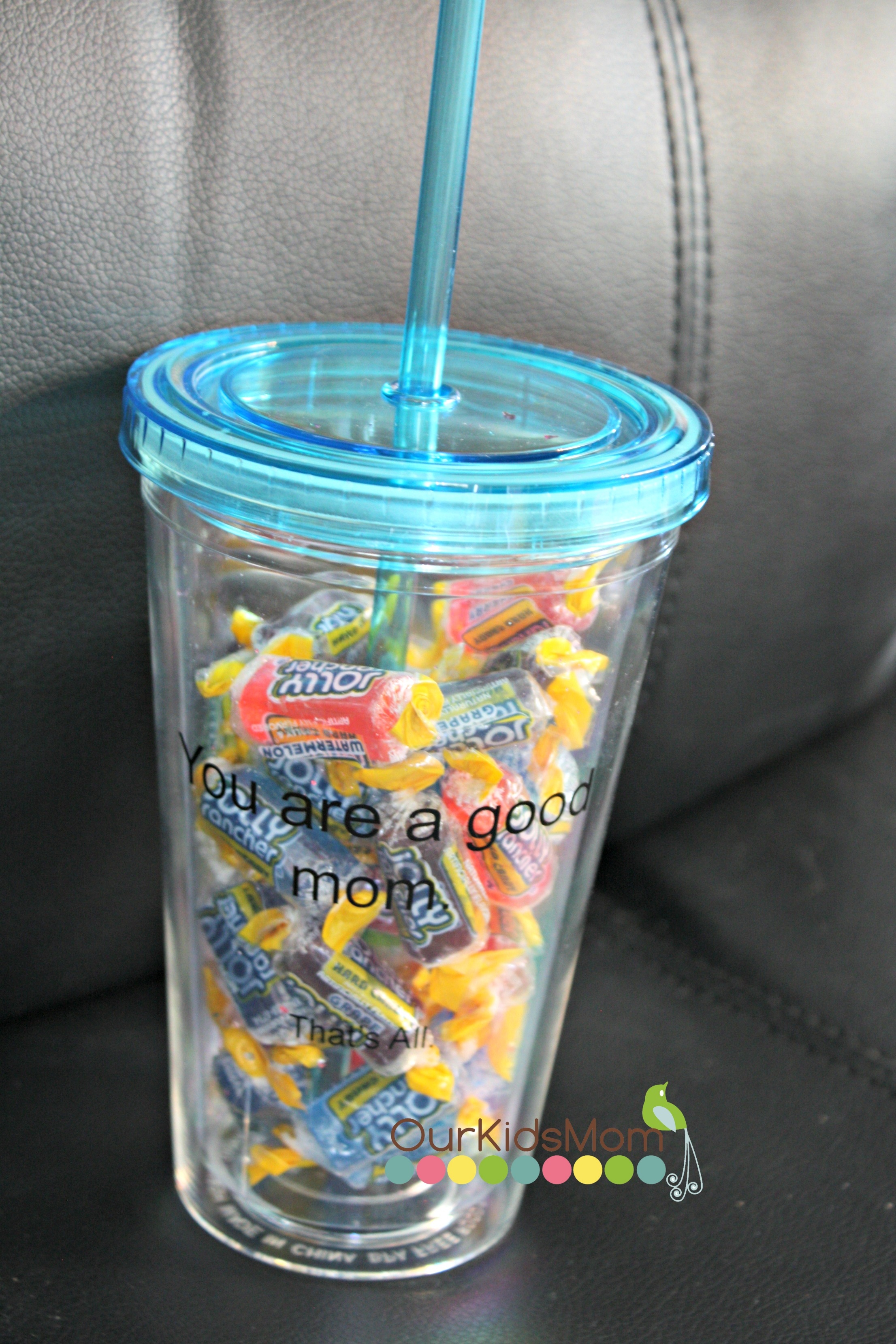 Tumbler and jolly ranchers