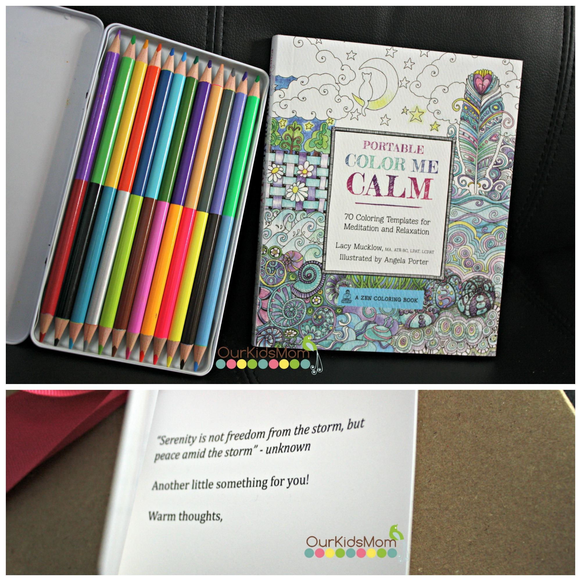 Coloring book set